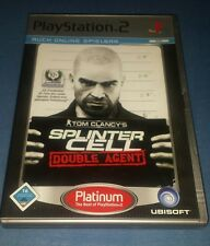 Tom Clancy's Splinter Cell: Double Agent (Sony PlayStation 2, 2007, DVD-Box)