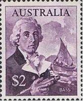 Australia MNH 1966 Navigator Stamp $2 George Bass - Tom Thumb Ship variety issue