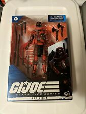 Hasbro 2020 G.I. Joe Classified Series 6 Inch Red Ninja Action Figure 08 nIb