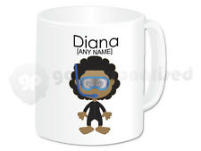 Personalised Diving Gift Scuba Diver Mug Cup Novelty Girl Divers Present Idea #3