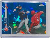 JASON KIPNIS 2020 TOPPS CHROME SAPPHIRE REFRACTOR CARD INDIANS / CHICAGO CUBS