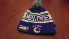 Vancouver Canucks New Era Hat Cap Tuque Mens Womens  New NWT