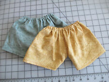 18 Inch Doll Clothes Handmade~ 2 Pair of Shorts~