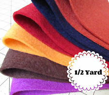 1/2 Yard 100% Virgin Merino Wool Felt - Cut to order
