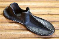 Antique Cast Iron Cobblers Shoe Anvil Form Last Child Size Old Primitive Decor