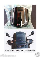 CUPOLINO FUME' alto  YAMAHA X-MAX 125/250cc 250 EURO 3  fino a 2009  cod.28280