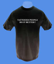 Männer Herren T-Shirt Tattooed People do it better move2be S M L XL schwarz