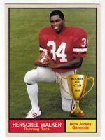Herschel Walker '83 New Jersey Generals USFL Monarch Corona Rookie All Star #5