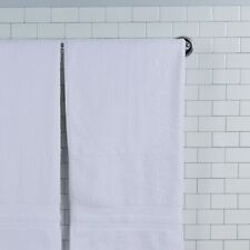 "12 Pack Magellan Bath Towels - Large 27"" x 54"" Bulk White Soft Cotton Towel Set"
