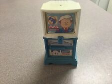 Fisher Price Loving Family Dream Dollhouse Blue Flip TV Television 3 Channels