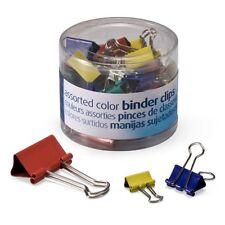 Oic Binder Clip Assortment Mini Small Medium 1 Pack Assorted