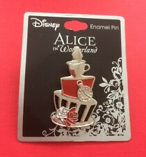 Disney Alice in Wonderland Unbirthday Teacup Pin Neon Tuesday New on Card