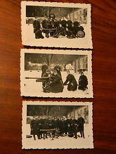 LOT 3 photo CANON MILITAIRE soldat CASERNE camp ARME army CANONE