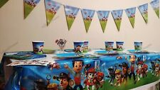 Paw Patrol Balloons, Plates, Cups, Banner, Birthday Party Decorations Supply