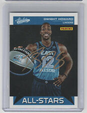 DWIGHT HOWARD Lakers SIGNED 2012-13 Absolute Basketball Autograph ON CARD AUTO