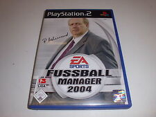 PlayStation 2   PS2  Fussball Manager 2004 von Electronic Arts