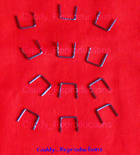 1936 - 1966 Cadillac Staples for Seals, Felts, Misc. Many Applications Set of 12
