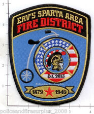 Wisconsin - ERV's Sparta Area Fire District WI Fire Dept Patch