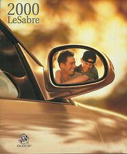 2000 BUICK LeSABRE Brochure / Catalog: Custom, Limited, Le Sabre, '00