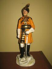 Michael Sutty porcelain figurine - Skinner's Horse Officer, Duke of York Cavalry