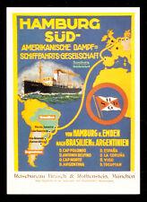 Ak: Hamburg-sur/americana dampfschifffahrts-sociedad (2)