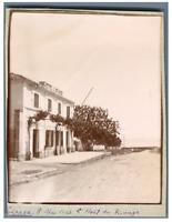 Algérie, Tipaza (تيبازة), L'Hôtel de Rivage  Vintage citrate print. Tirag