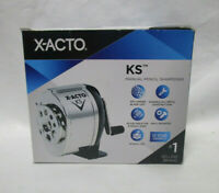 NEW X-ACTO Manual Pencil Sharpener - Metal - Adjustable Size