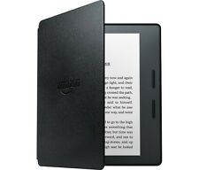 "NEW AMAZON KINDLE OASIS+LEATHER CHARGE COVER BLACK 6"" WIRELESS EREADER ~ BUNDLE"