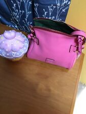 Dooney And Bourke Pink Mini Florentine Zip Crossbody EUC Dustbag Included