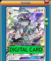 Silvally GX - 184/236 Cosmic Eclipse PTCGO Online Digital Card