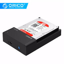 "ORICO  2.5"" & 3.5"" USB 3.0 SATA Hard Disk Drive Docking Station Enclosure Case"