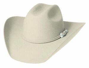 NWT Bullhide Men's Legacy 8X Fur Blend Cowboy Hat. Buckskin Color