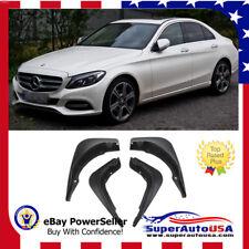 For 12-14 Mercedes-Benz C-Class Sport C200 C250 C300 Mud Flaps Splash Guard