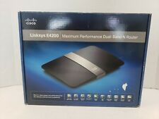 CISCO LINKSYS E4200 WIRELESS DUAL BAND N ROUTER (2.4 & 5 ghz) WiFi
