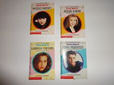 BEVERLY HILLS 90210 STAR SHOTS COLLECTOR'S BOOK SERIES, 2-3-4-5 Set of 4