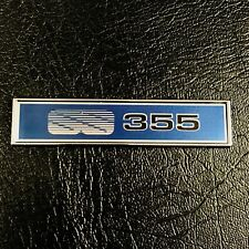 CLASSIC BADGES METAL BADGE SUIT VK SS 355 BLUEY CAR INTERIOR CONSOLE STICK ON
