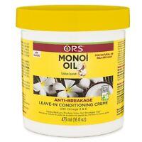 Organic Root Stimulator Monoi Oil Leave-In Conditioner 16 oz (Pack of 2)