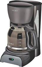 NEW SUNBEAM MR COFFEE SK-13NP 12 CUP BLACK COFFEE MAKER BREWER ELECTRIC 1480144