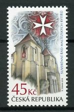 Czech Rep 2019 MNH Sovereign Military Order of Malta 1v Set Architecture Stamps