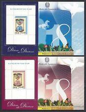 2006 italia repubblica Foglietti Diciottenni Rosa e Azzurro