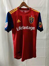 Adidas 2018 RSL Real Salt Lake Joao Plata Soccer Jersey Mens Size Small  MLS Red