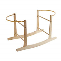 Clair de Lune Standard Rocking Moses Basket Stand