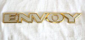 """2002-2006 GMC 24K GOLD PLATED """"ENVOY"""" EMBLEM - 15001725"""