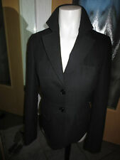 Miss H. Collection Blazer schwarz  feines Muster Größe 36