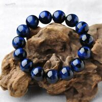 Blue Men Eye Bracelet Charm Stone Women Men Beads Bracelets Tiger Natural