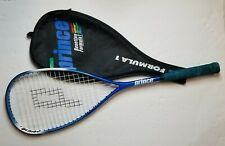 Limited Edition Prince Benetton Formula 1 Squash Racquet and matching Cover Rare