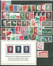 DDR Jahrgang 1958 kpl. postfrisch