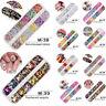12 Grids 3D Nail Art Rhinestones Glitters Sequins Paillette Decor Tips Manicure