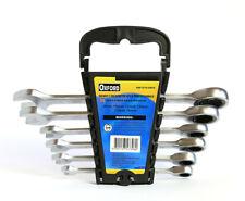 Chiavi combinate a cricchetto 6 pezzi chiave inglese fissa misure da 8 a 19 mm