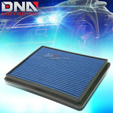 FOR 99-17 SILVERADO/SIERRA BLUE REPLACEMENT RACING DROP IN AIR FILTER PANEL